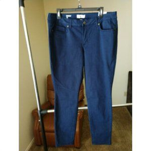 Sonoma Goods for Life Sz 16 Skinny Blue Jeans NWT